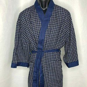 State O Maine Full Length Cotton Robe One Size